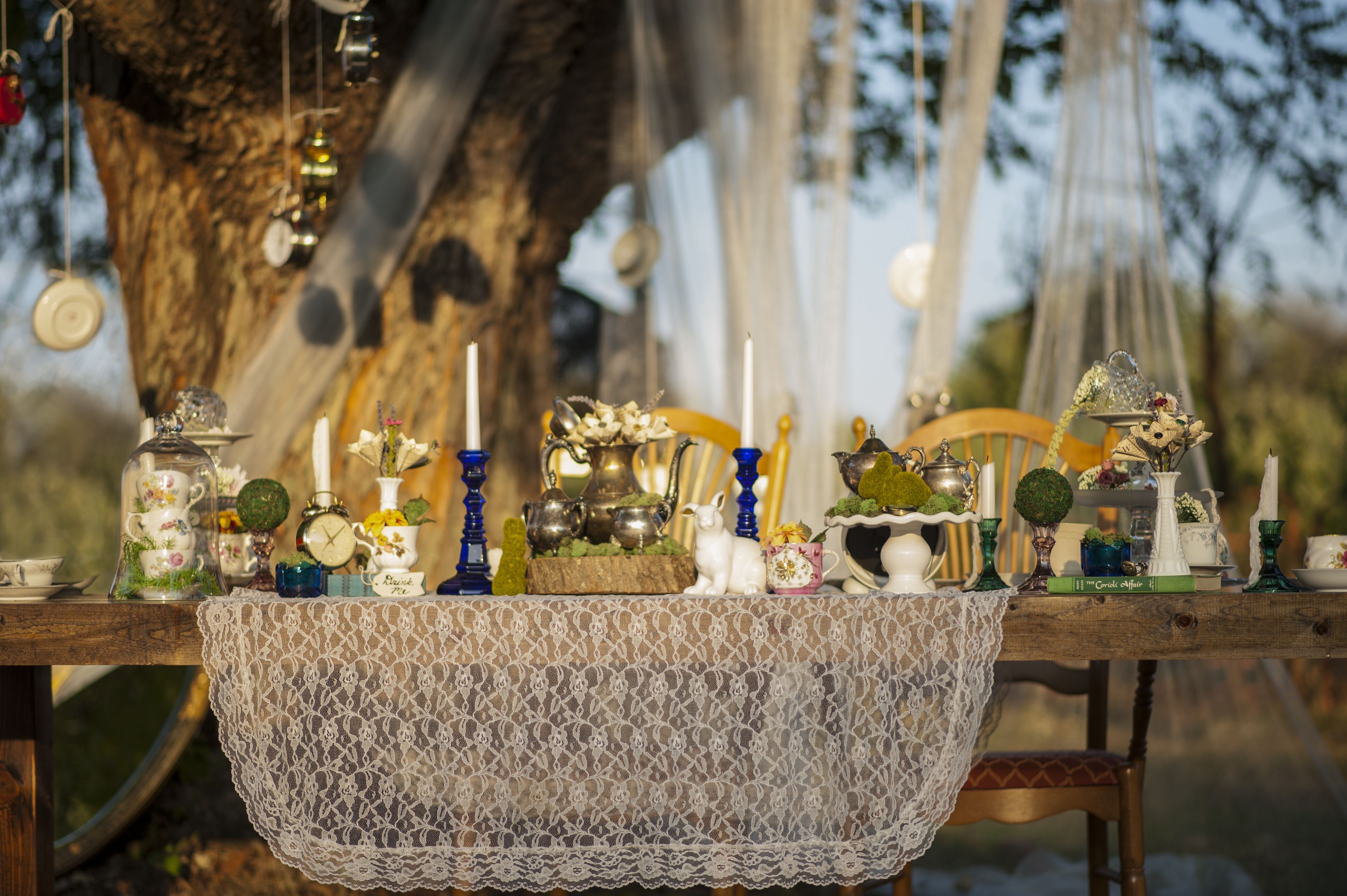 Tablescape Display