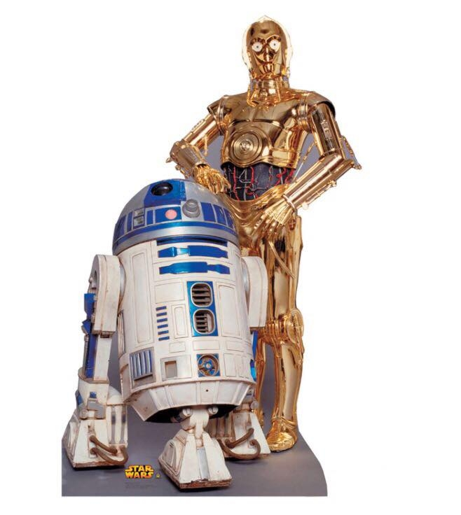 Droids Stand Up
