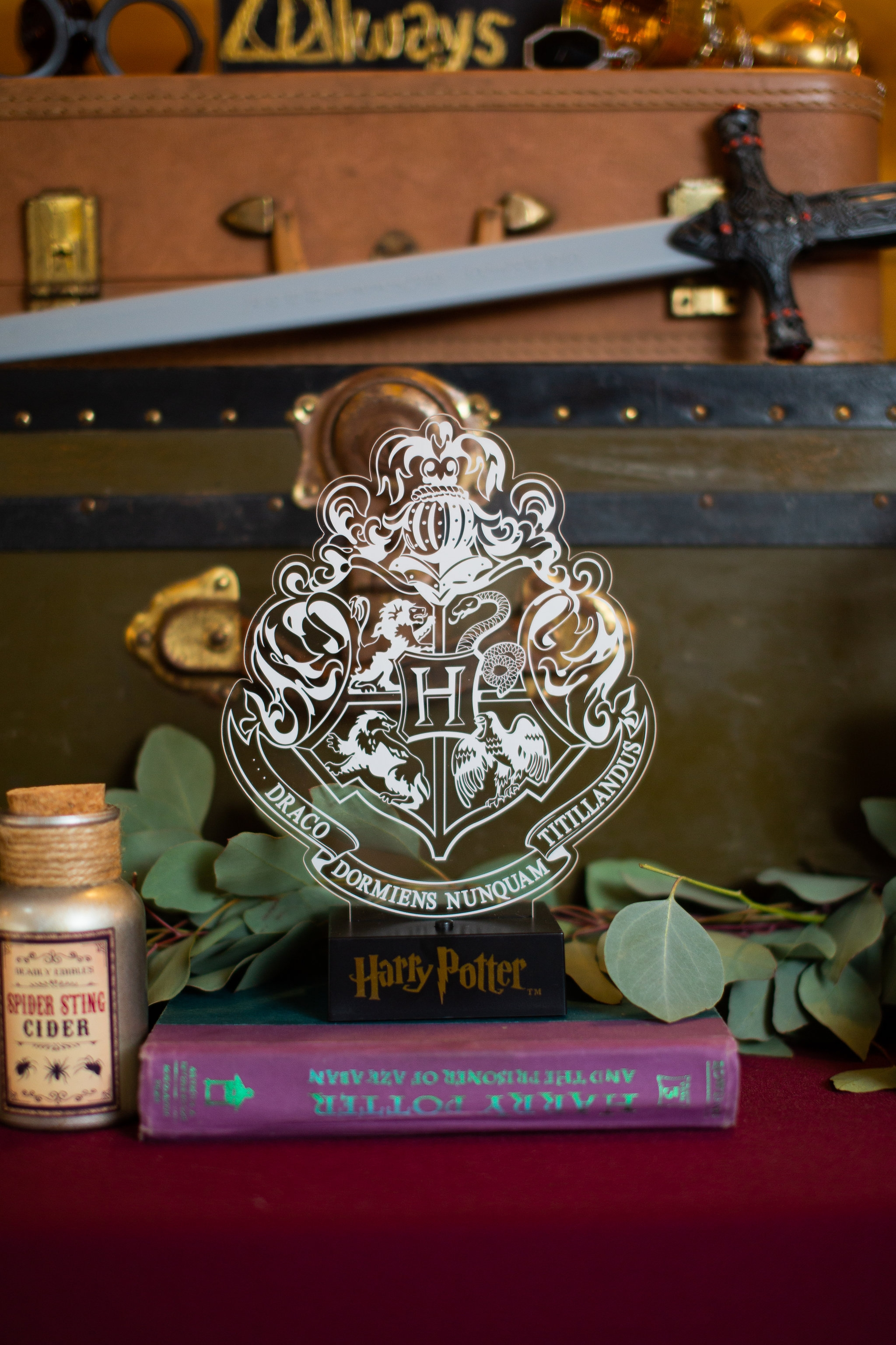 Light Up Hogwarts Crest