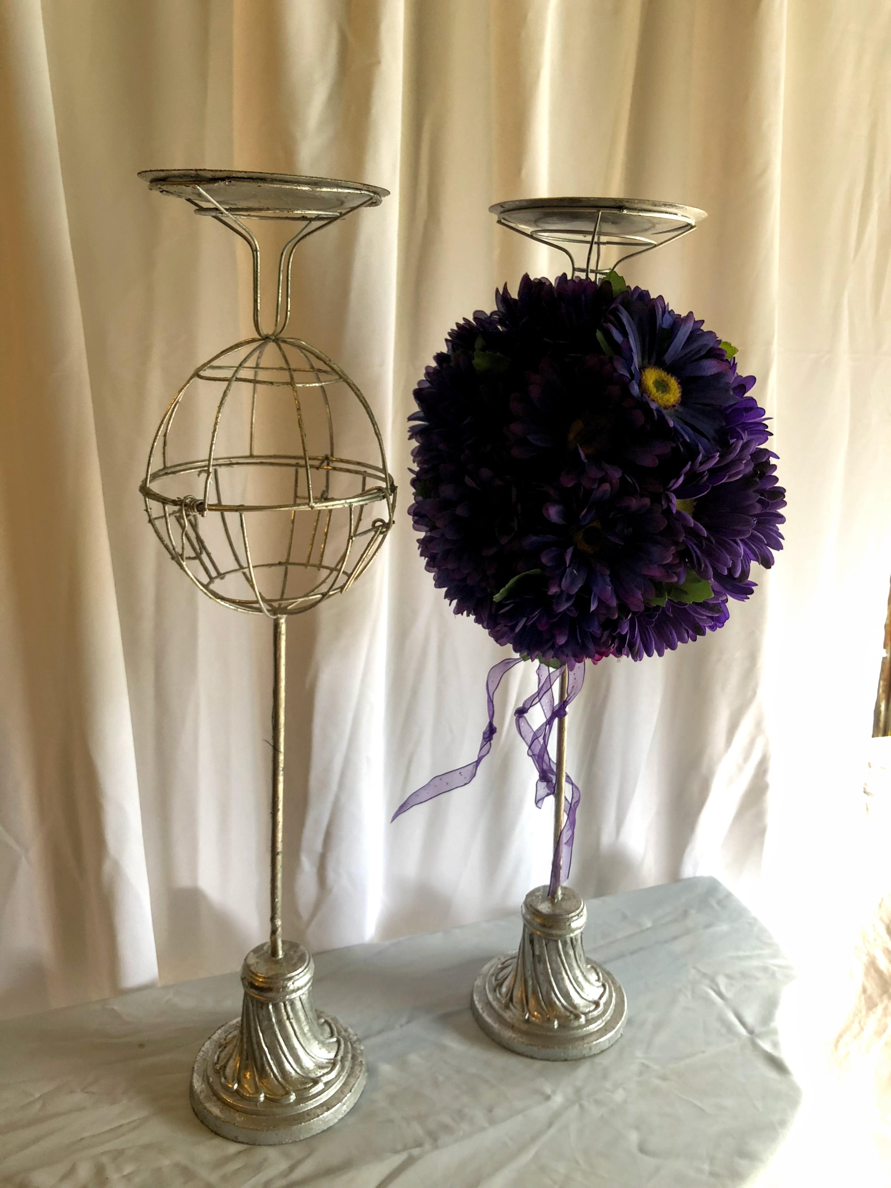 Flower Ball Stands