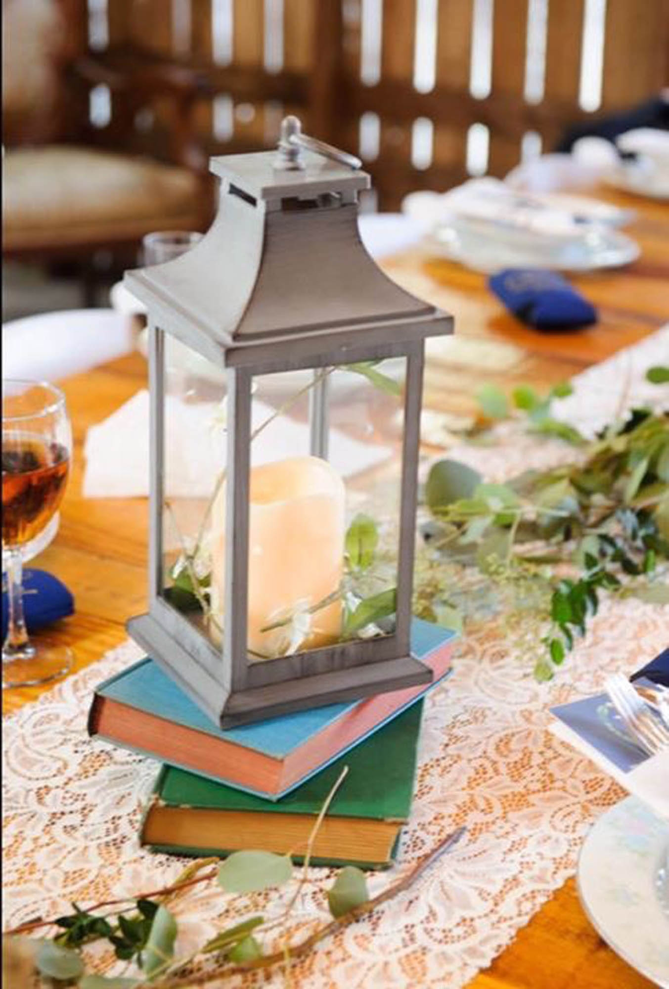 Lanterns with Led Candles