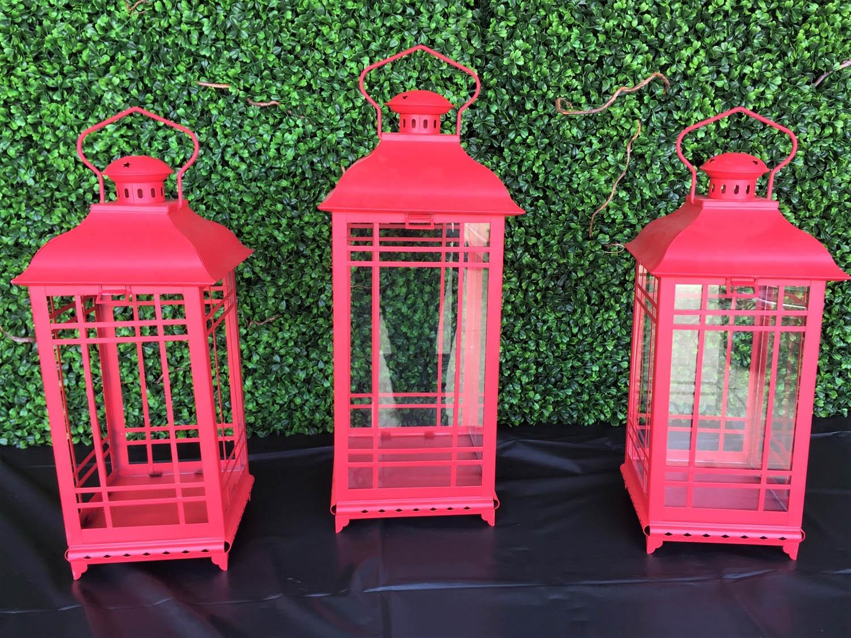 Large Red Lanterns