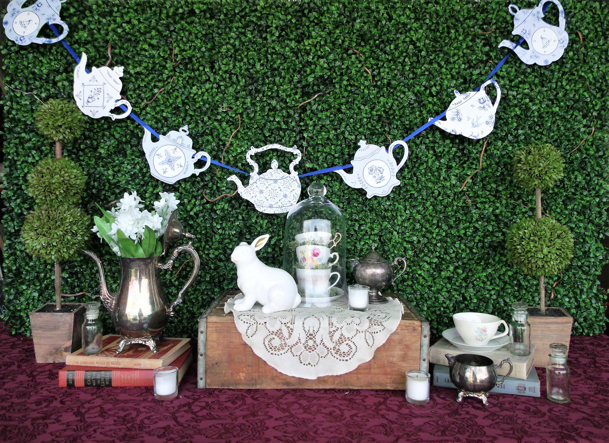 Tea Pot Garland