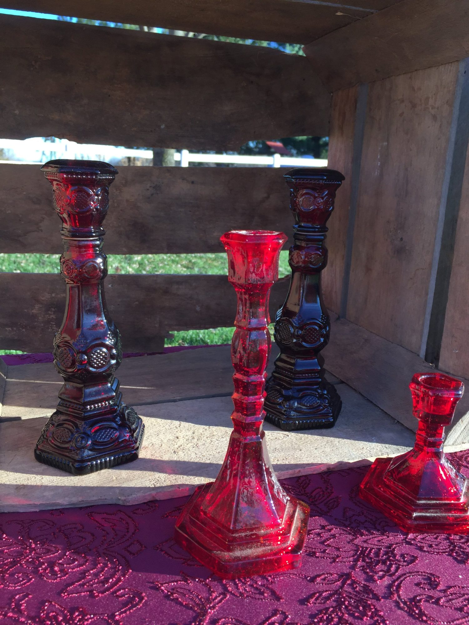 Red Candlesticks
